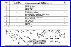 2014-2019 Yamaha Bolt Inner Fender Eliminator Kit 1TPF16E0V000