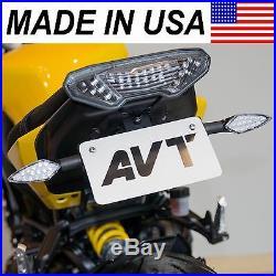 AVT 2014 2015 2016 Yamaha FZ09 Fender Eliminator NI Kit LED Turn Signals FZ-09