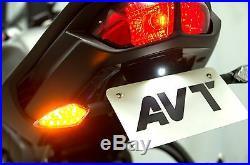 AVT Yamaha FZ8 (10-15) / FZ1 (06-15) Fender Eliminator NI LED Turn Signals