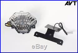 AVT Yamaha FZ-07 Fender Eliminator Kit FZ07 Integrated Turn Signals Tail Light