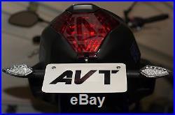 AVT Yamaha FZ-07 Fender Eliminator NI Kit 2013-2018 FZ07 LED Turn Signals