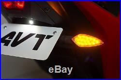 AVT Yamaha YZF-R3 Fender Eliminator NI Kit 2015-2018 R3 LED Turn Signals