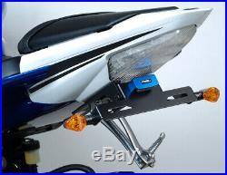 Black Fender Eliminator Kit Puig 4736N For 08-16 Yamaha R6