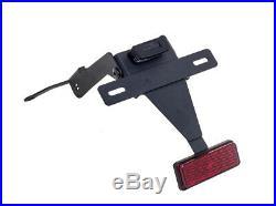 Black Fender Eliminator Kit Puig 6092N For 15-16 Yamaha XP530 T-Max