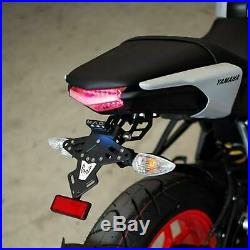 Fender Eliminator LED Tail Tidy Short Aluminum Fit For Yamaha MT-15 2018 Under
