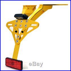 Fender Eliminator Tail Tidy License Plate Bracket For Yamaha TMAX 530 2013-2016