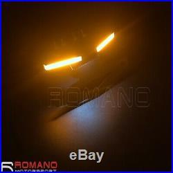 For YAMAHA YZF R1 2015-19 LED Turn Signals Tail Tidy Fender Eliminator Kit Black
