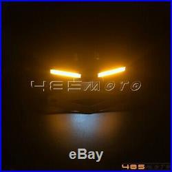 LED Turn Signal License Plate Bracket Tail Tidy For Yamaha YZF R6 2017-19 Black