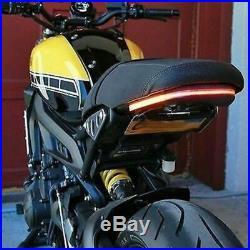 NEW RAGE CYCLES FENDER ELIMINATOR KIT With LED TAIL LIGHTS YAMAHA XSR700 TUCKED