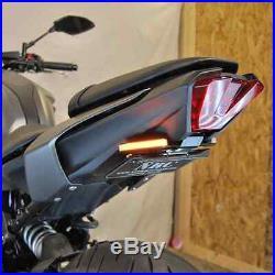 NEW RAGE CYCLES Yamaha MT-07 Fender Eliminator + Led Signals (tucked)