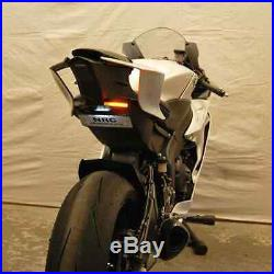 NEW RAGE CYCLES Yamaha R6 (2017+) Tail Tidy Fender Eliminator KIT + Led Signals