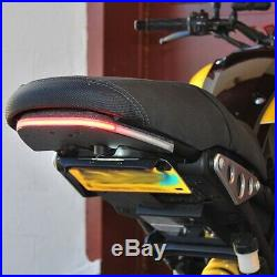 NEW RAGE CYCLES Yamaha XSR 900 Fender Eliminator Tucked + LED Signals + Eq Mod