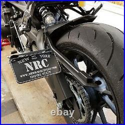 NRC MT09-SIDE Side Mount License Plate for 2017-2021 Yamaha MT-09