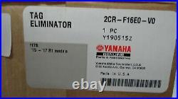 New Genuine Yamaha Yzf R1 Yzf-r1 Street Tag Eliminator 2cr-f16e0-v0-00