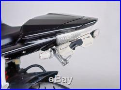 PUIG 2009-2010 Yamaha FZS600 FZ6R FENDER ELIMINATOR KIT BLK YAM FZ6R'09-10 4949