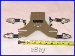 R1 Gold Fender Eliminator Comp Kit 4t/s Led Light 04-11