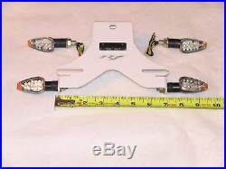 R1 White Fender Eliminator Kit 4t/s Pl 04 05 06 07 2008 2009 2010 2011 2012 2013