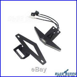 Rear Tail Tidy License Plate Bracket LED Turn Signals For Yamaha YZF R1 2015-19