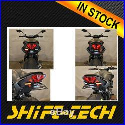 ST2082 Yamaha MT-07 Tail Tidy Fender Eliminator Kit LED Signal TAG 18' 19