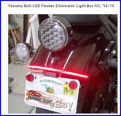 Yamaha Bolt Led Fender Eliminator Light Bar Kit 2014-2016