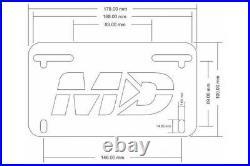 Yamaha FJ-09 FJ09 2015 2016 2017 Tracer 900 2019 20 Fender Eliminator Tail Tidy