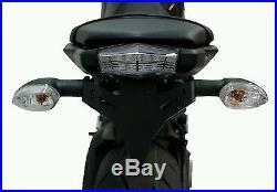 Yamaha MT-09 Fender Eliminator/Tail Tidy. Evotech Performance. Short light