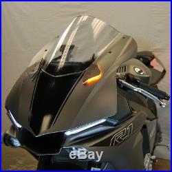 Yamaha R1 2015 -2018 Mirror Block Off Turn Signals LED New Rage Cycles motogp