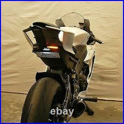 Yamaha R6 2017- 2021 FENDER Eliminator Número de Placa Cola LED New Rage Cycles