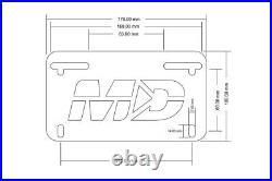 Yamaha R6 YZF R6 YZF-R6 2006 2016 Low Profile Fender Eliminator Plate Light
