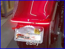 Yamaha Stryker Fender Eliminator LED Brake & Turn Signal Light Bar Kit Clear