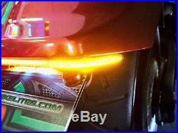 Yamaha Stryker Fender Eliminator LED Brake & Turn Signal Light Bar Kit Smoke