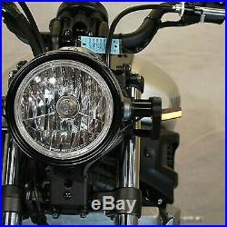 Yamaha Xsr 700 Vorne Blinker LED New Rage Cycles Nrc Motogp Rennen Set L & R