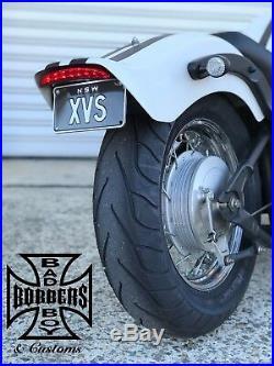 Yamaha Xvs650 Custom Fender Eliminator Tail Tidy V-star650 Led Easy Diy Fit