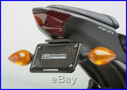 Yosh Fender Eliminator Kit License Plate Holder for Yamaha FZ07 2015-2017 16