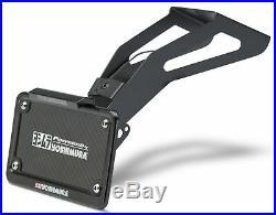 Yosh Fender Eliminator Kit License Plate Holder for Yamaha FZ09 2017